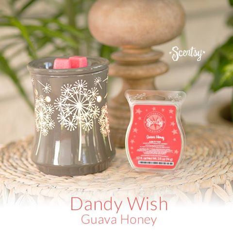 Dandy Wish Dandelion Scentsy Warmer