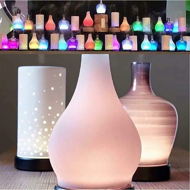 Ultrasonic essential oil diffuers