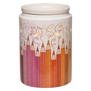 Colorgraphy Pencils Scentsy Warmer