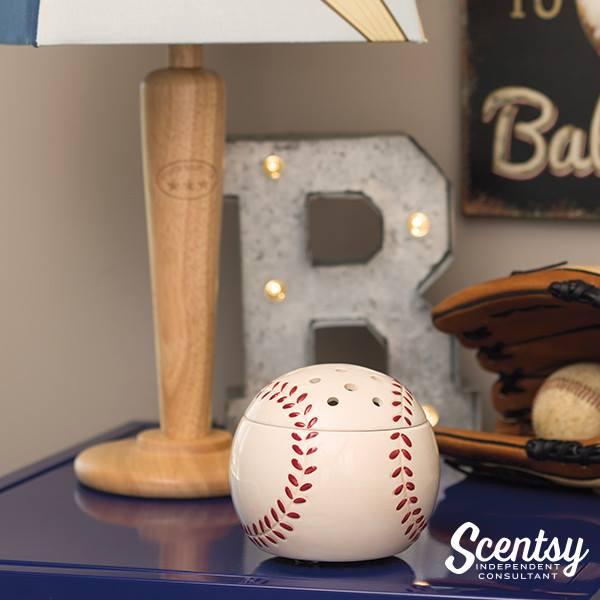 Baseball Scentsy Warmer Home run
