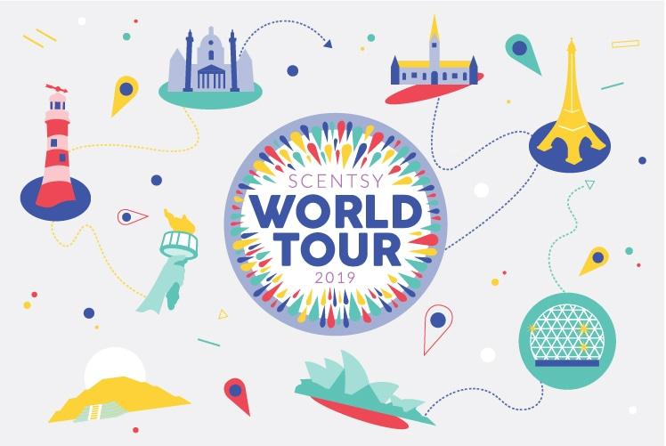 Scentsy World Tour