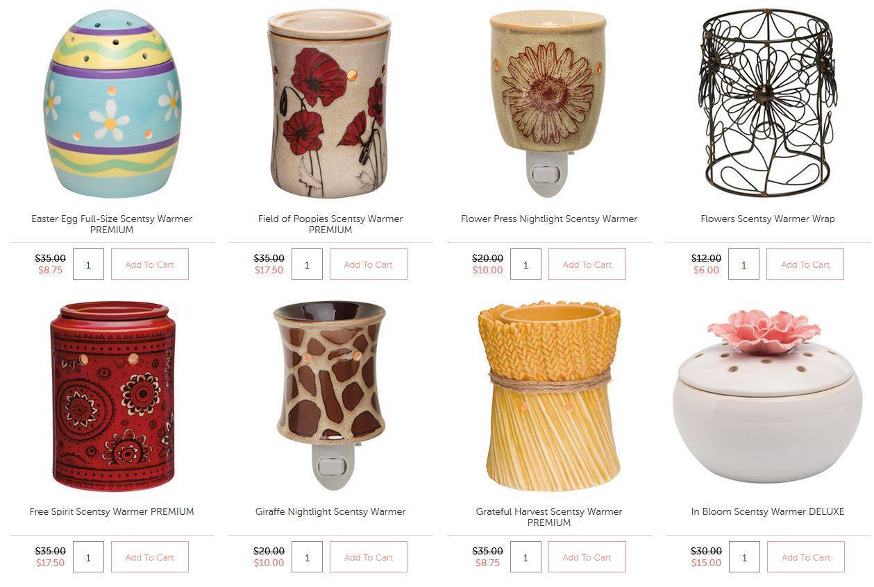 Scentsy Sale 2015
