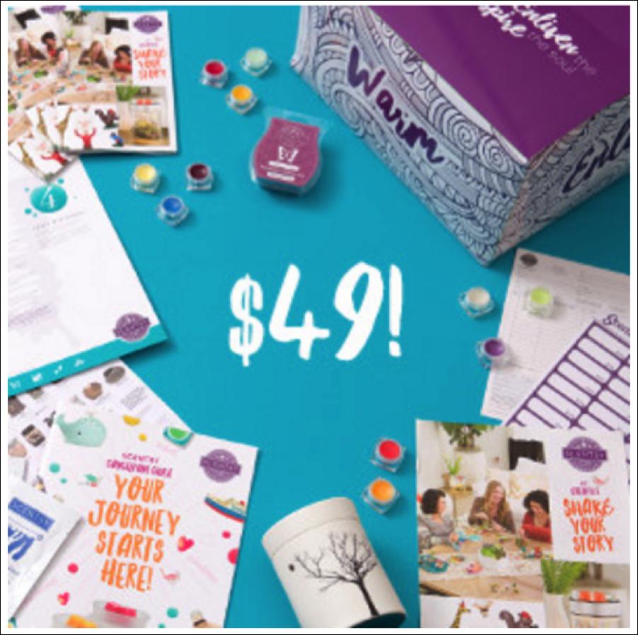 Scentsy $49 Starter Kit