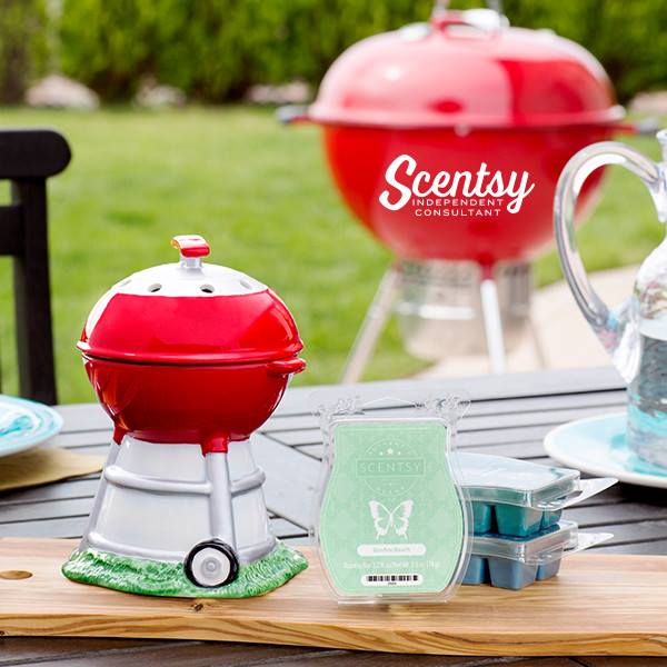 BBQ Grill Scentsy Warmer Fathers Day Bundle