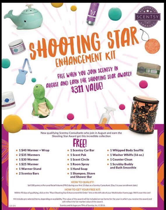 Shooting Star Free Kit