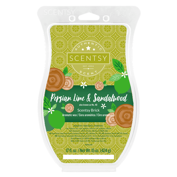 Scentsy Brick persian lime and sandalwood