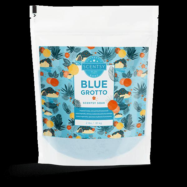 Blue Grotto Scentsy Soak