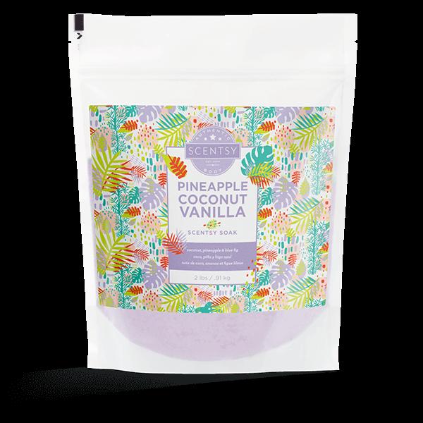 Pineapple Coconut Vanilla Scentsy Soak