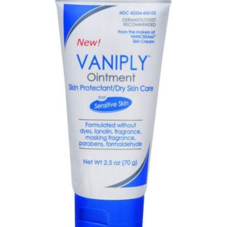 Vanicream Vaniply Ointment 2.5oz