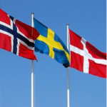 Scandinavian flags