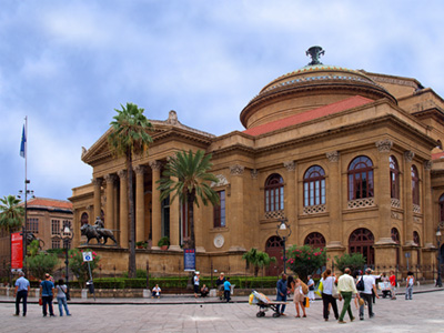 Teatro Massimo, third largest opera house in Europe