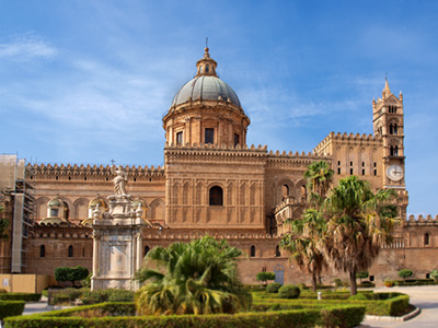 Palermo Cathedral, architectural textbook of entire Palermo history