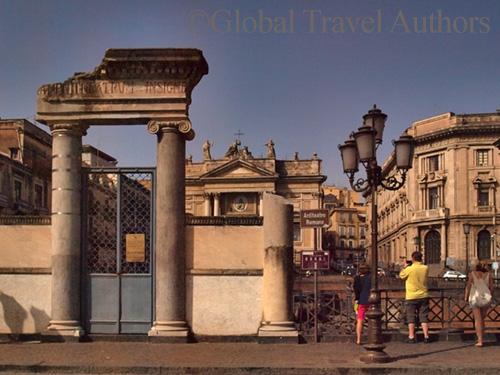 Entrance to Anfiteatro Romano