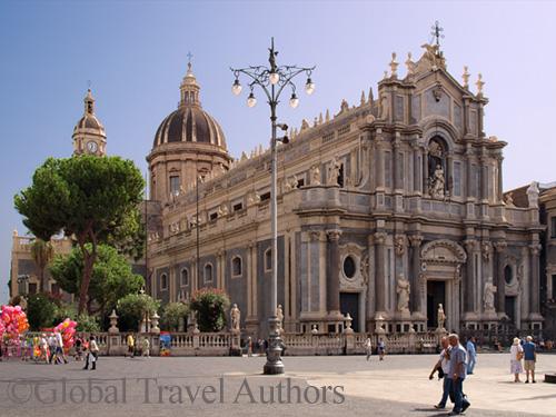 Duomo cathedral, Catania