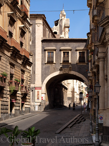 Abbey in Catania