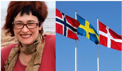 flags of Scandinavian countries