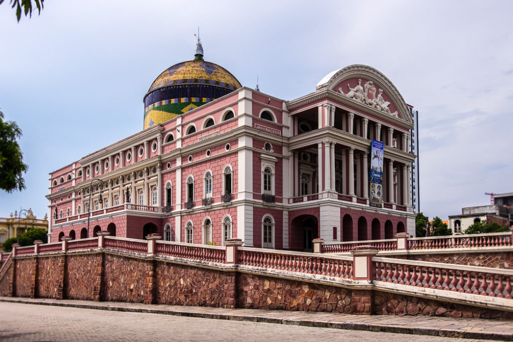 theater in Manaus, Brazil