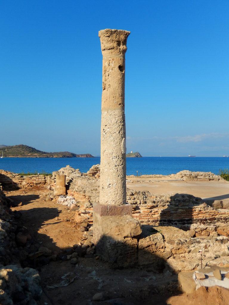 Excavations of Nora Sardinia