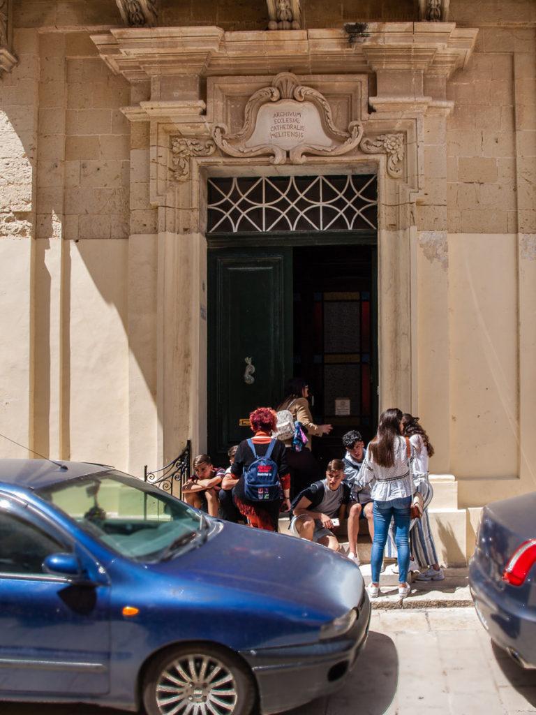 Archives of the Mdina Cathedral, Mdina, Malta