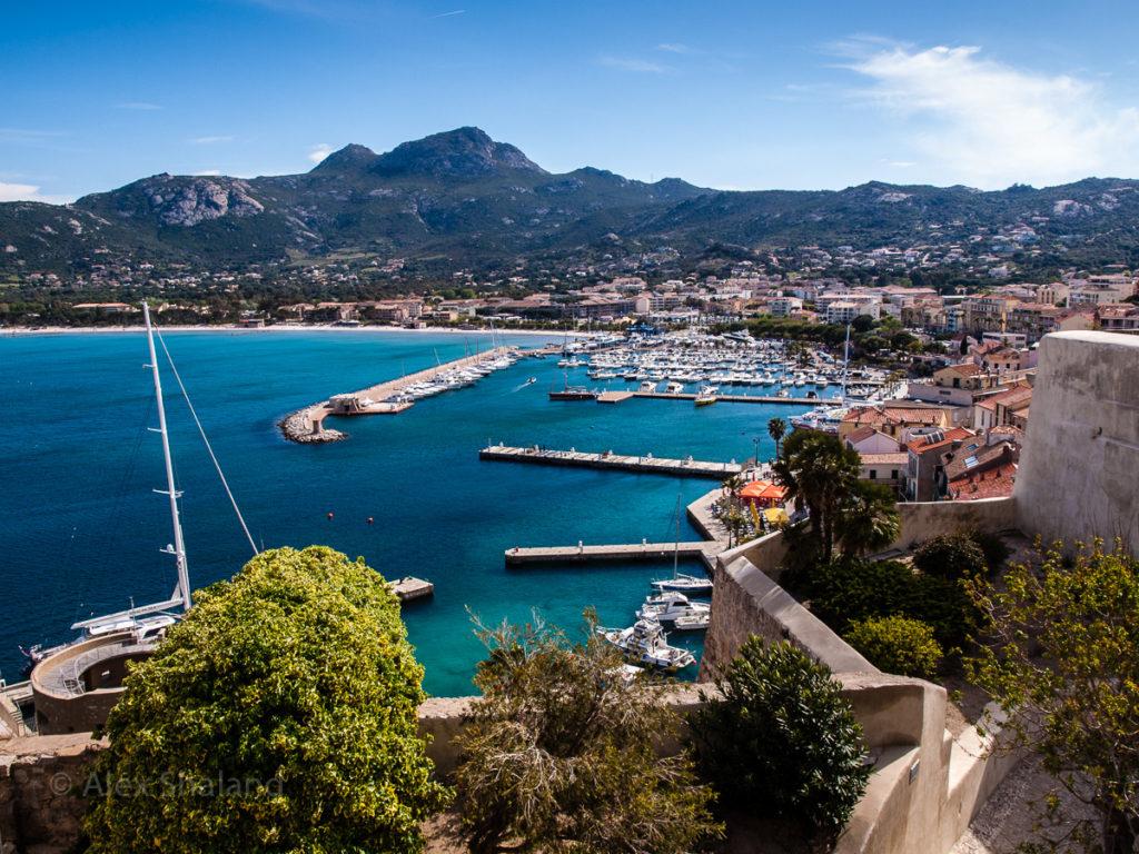 Marina in Calvi, Corsica