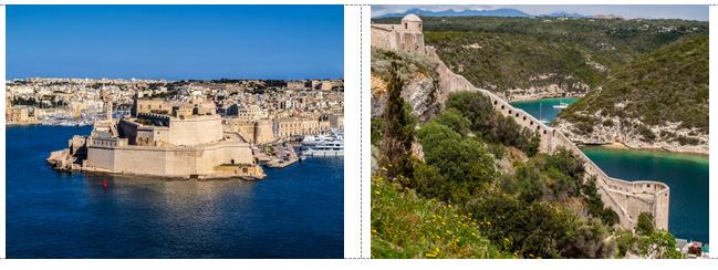 malta and corsica