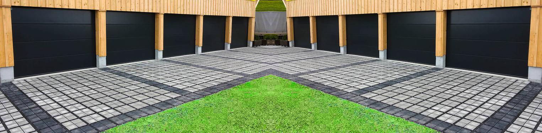 Garajes y jardines