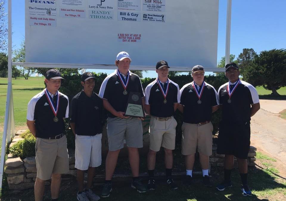 Comanche Boys Golf Wins District