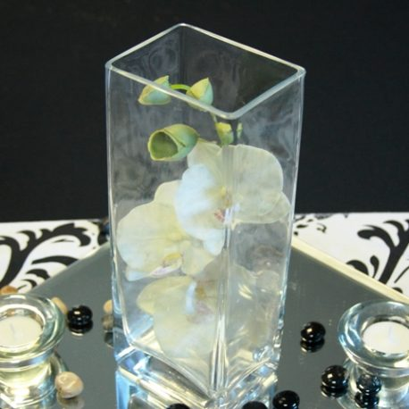 12 inch rectangle vase
