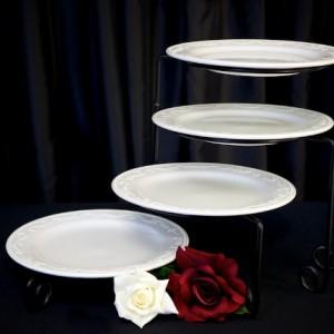 4 tiered serving platter