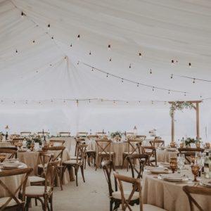 Full Tent ceiling drape