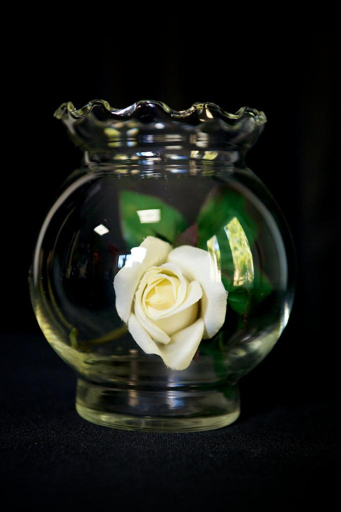Rose bowl Vase