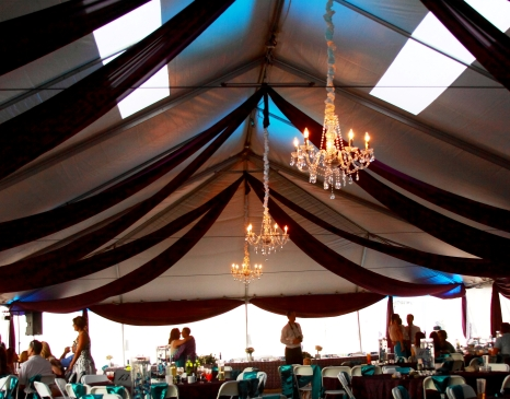 tent ceiling sails partial ceiling drape designer weddings