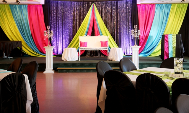 BAckdrop Package by Designer Weddings