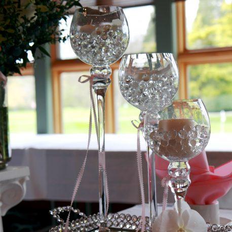 bubble vase trio