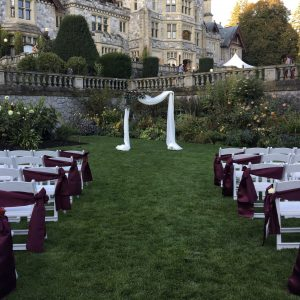 Ceremony essentials by Designer Weddings Victoria