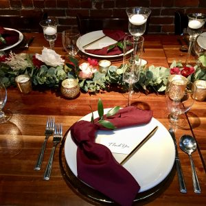 Tea lights by Designer Weddings Victoria