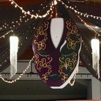 Crystal columns - 4 ft by Designer Weddings