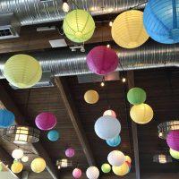 Chinese Lanterns by Designer Weddings