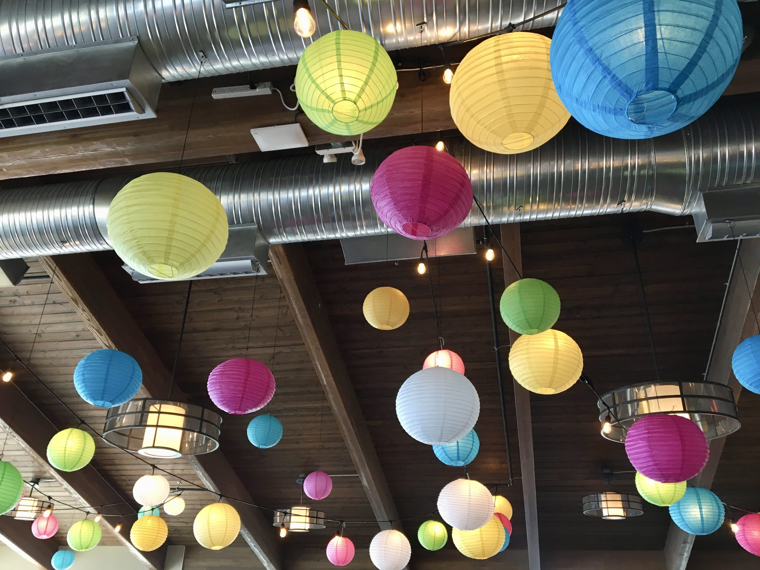 chinese lantern ceiling package
