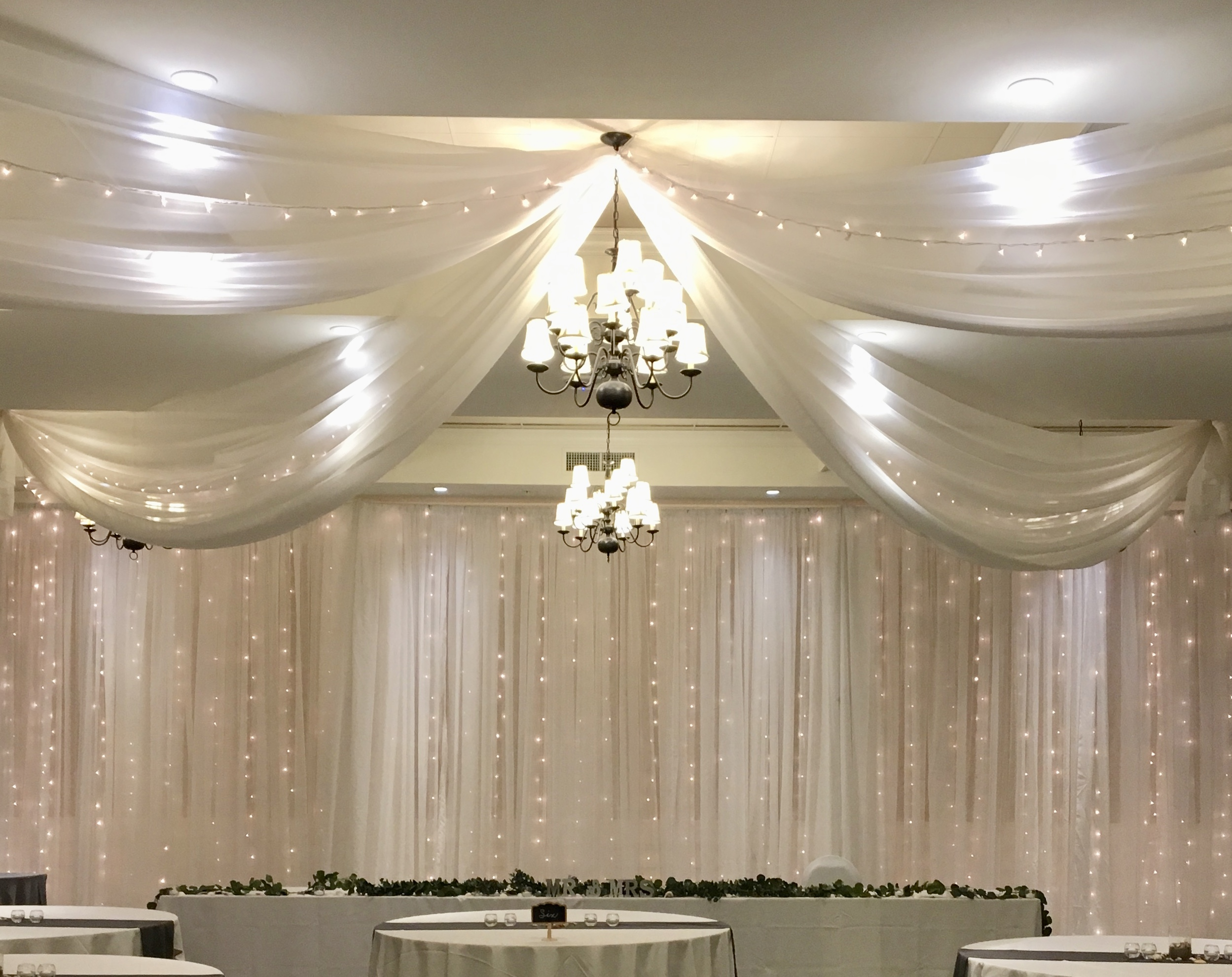 4 panel pinwheel ceiling package