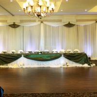 DIY Backdrop by Designer Weddings
