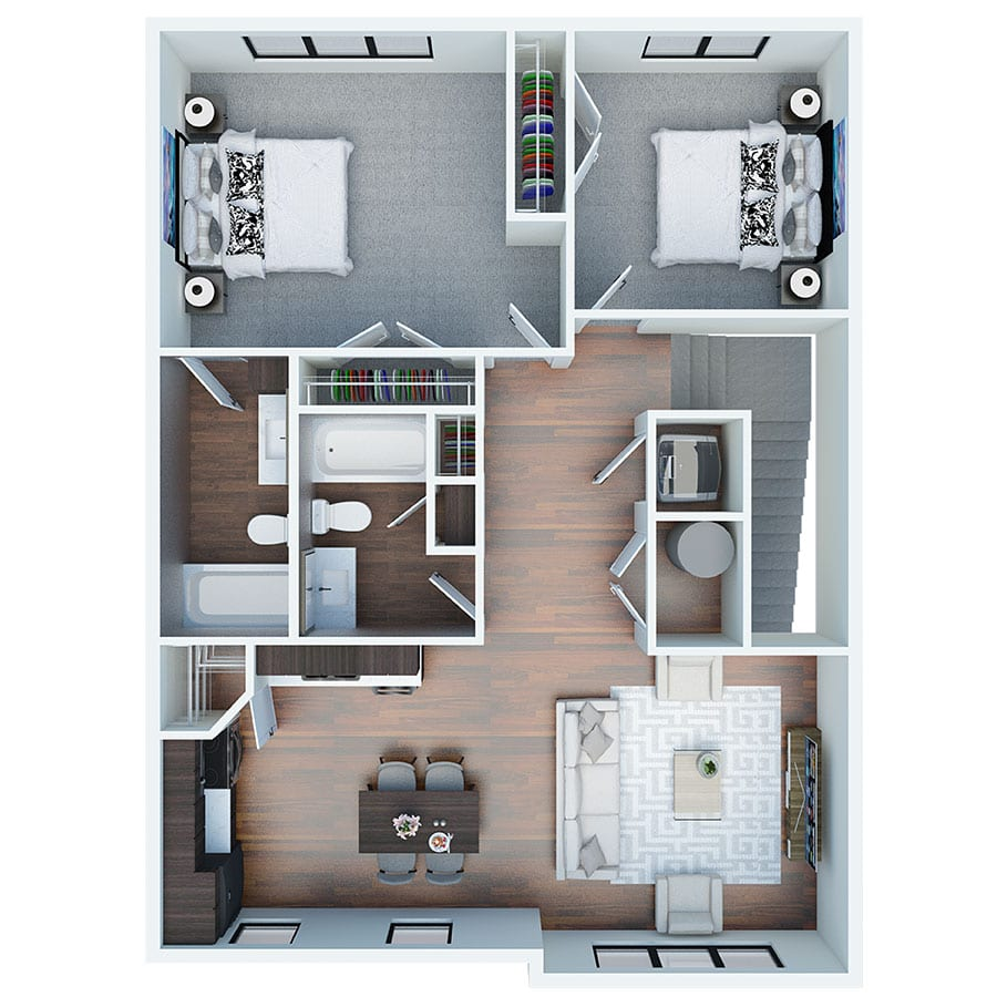 The-River-Townhome-3D-Floorplans-3-bed-upper-level