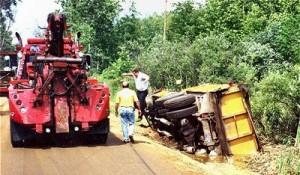 dump-truck-in ditch