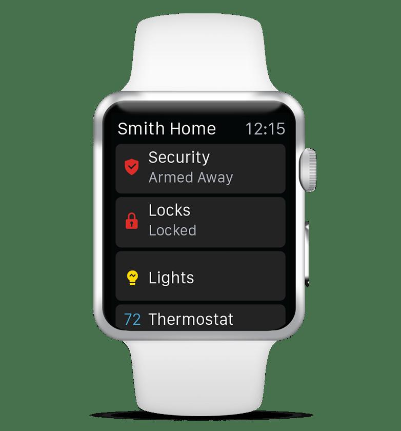 Alarm.com on Apple Watch
