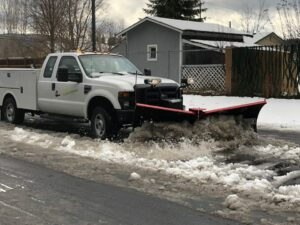 Snow Plowing Sandpoint Idaho