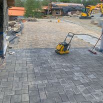 Paver inlay Sandpoint Idaho