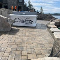 Paver patio Sandpoint Idaho