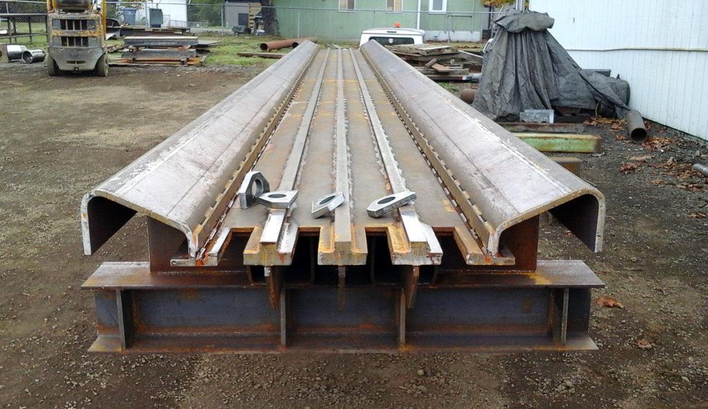 Log Conveyor Trough