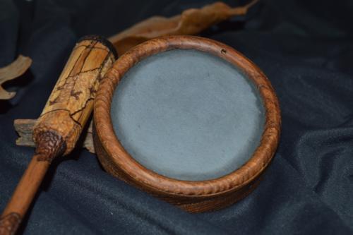 Old growth, wormy Chestnut turkey pot call