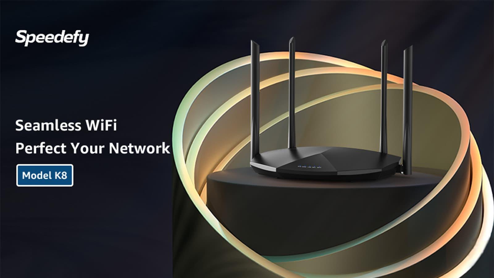 k8 wifi router